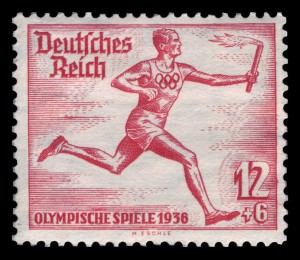 1936 Berlin Olympics Stamp