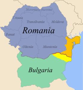 Southern Dobrudja map