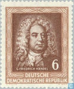 G Friedrich Handel - E Germany