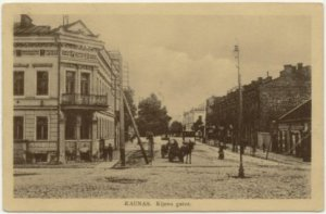 kovno postcard