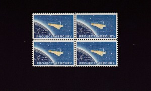mercury 7 stamp