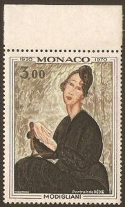 Modigliani - Monaco 1970 Portrait