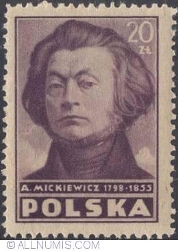 Adam Mickiewicz - Poland 1947