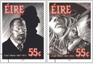 bram stoker ireland stamps
