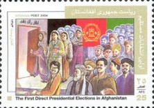 Afghanistan First Direct Elections - 2004