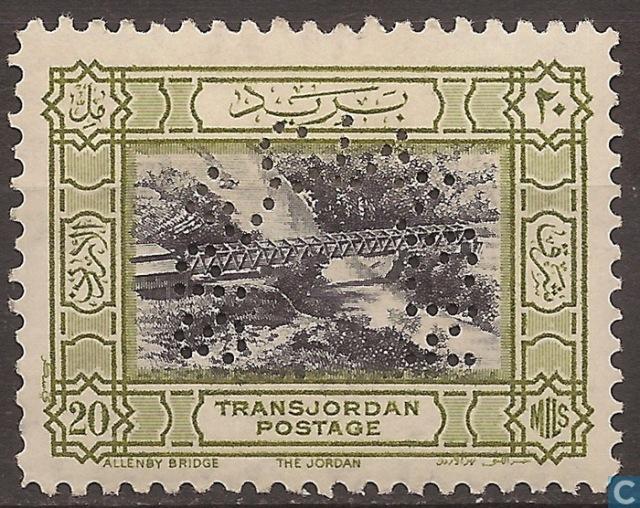 Allenby Bridge - Transjordan 1933