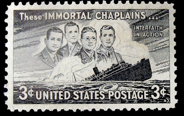 immortal chaplains - us 1948