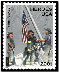 September 11 postage stamp