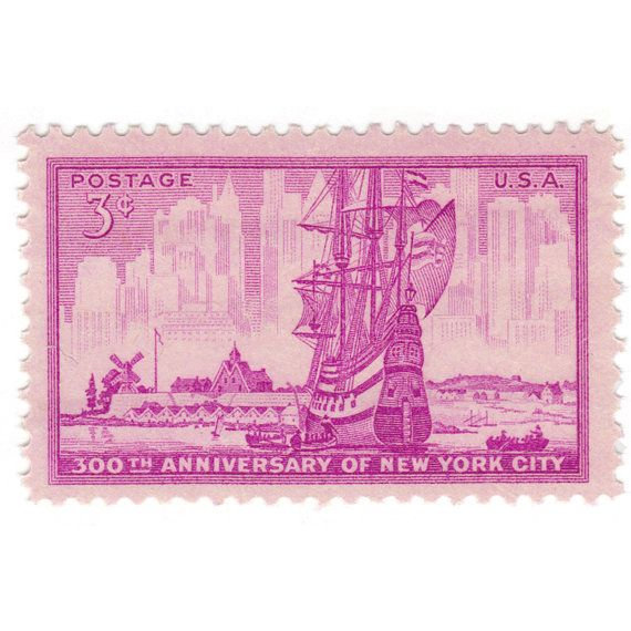 300th anniversary of NYC