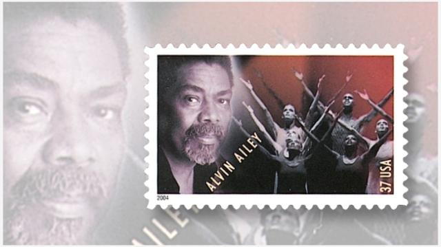 alvin-ailey-choreographer-commemorative - usa May 04 2004