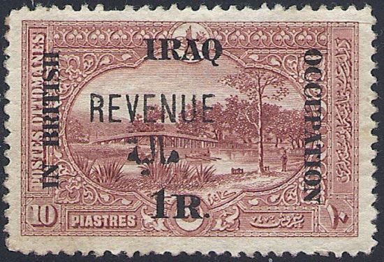 Iraq revenue