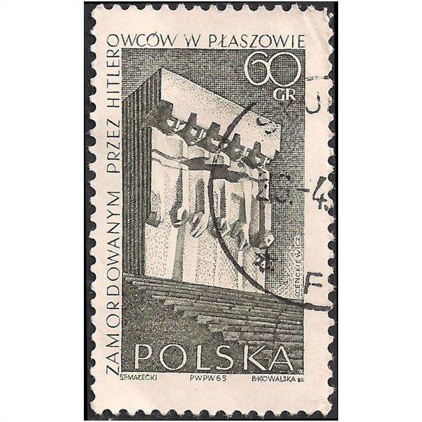 krakow-plaszow poland 1965