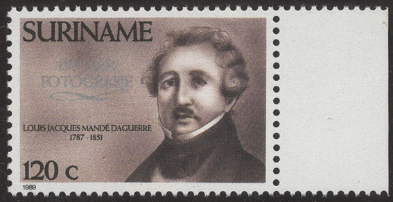 Louis Daguerre - Surinam - Sep 06 1989