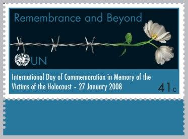 UN Holocaust Remembrance Day - 41c - 2008