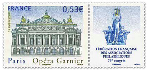 2006-paris-opera stamp - france