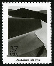 ansel adams - sand dunes - usa - june 2002