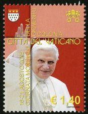 pope benedict xvi - vatican city