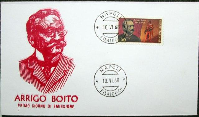 arrigo boito FDC - Italy 1968