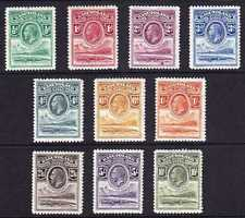 basutoland 1933 - first 10 stamps