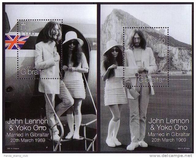 John Lennon & Yoko Ono - Gibraltar