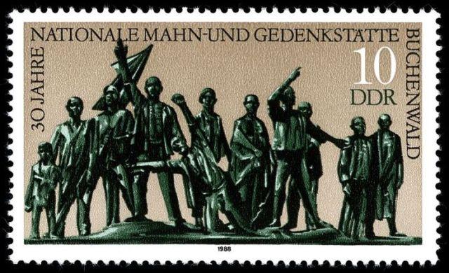 buchenwald - ddr - 1988