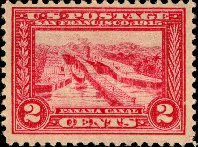 Panama Canal - US 1913