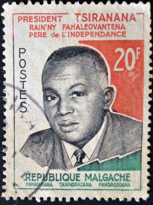 Madagascar Independence Stamp 1960