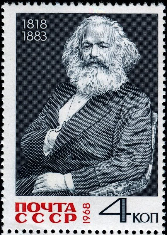beards - karl marx - russia