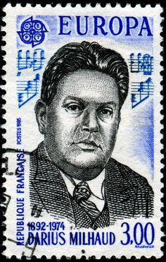 darius milhaud - france