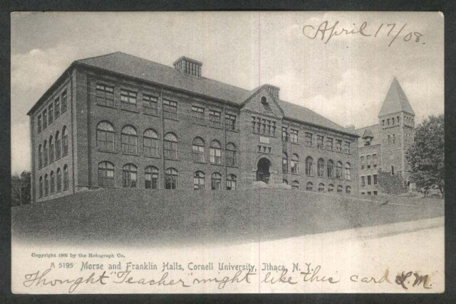 cornell-u-postcard-of-morse-franklin-halls