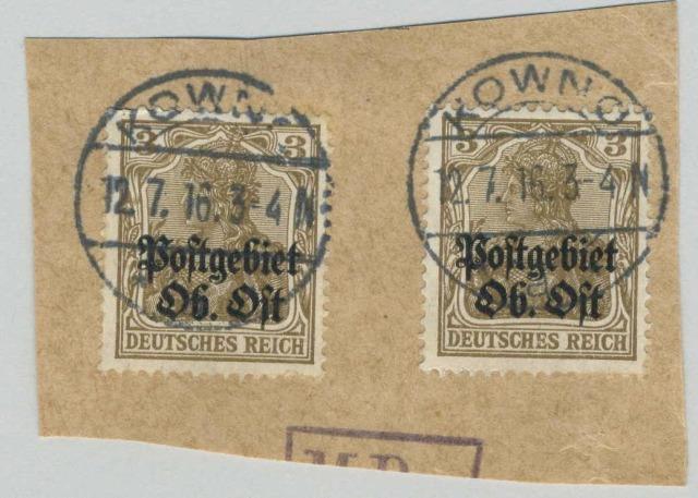 kovno-postmarks