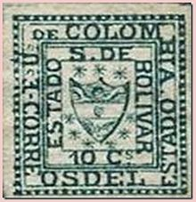 1863_stamp_of_bolivar