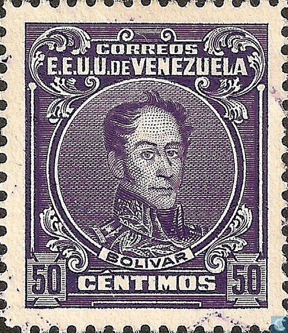 simon-bolivar-1915-venezuela-50-centimos