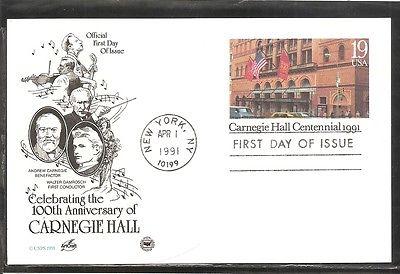 carnegie-hall-centennial-fdc