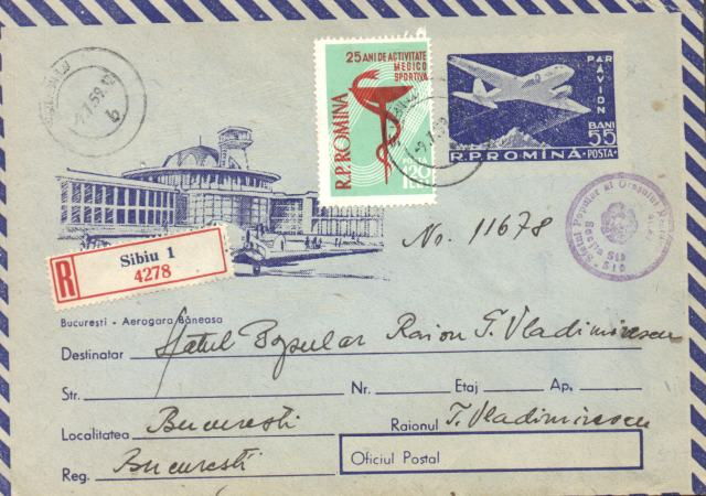 envelope-romania-1957-bucharest-airport-blue