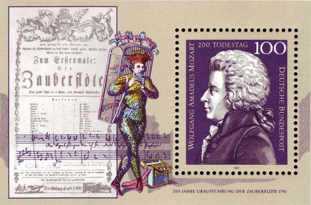 magic-flute-stamp-1991-west-germany