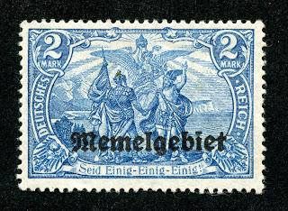memel-germany-sc-16-2-mark-yr-1920