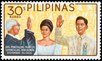 President Marcos and Imelda - Phil